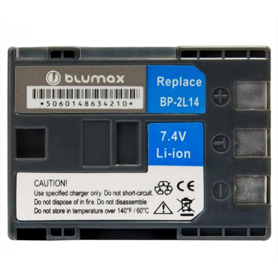 Blumax batteria compatibile per CANON BP-2L24H BP-NB-2L13 BP-NB-2L14