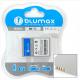 Blumax batteria compatibile per CANON NB-7L NB7L NB 7L 850 mAh