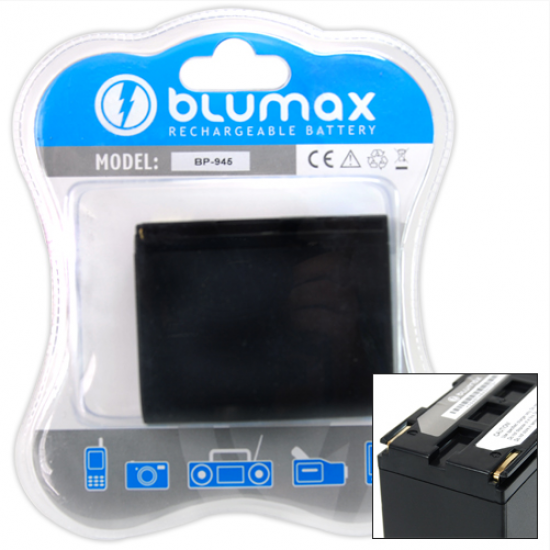 Blumax batteria per CANON BP-945 4800 MAH XH A1S, XH G1S, XL H1, XL H1A, XL H1s, XL1S, XL2, XM2