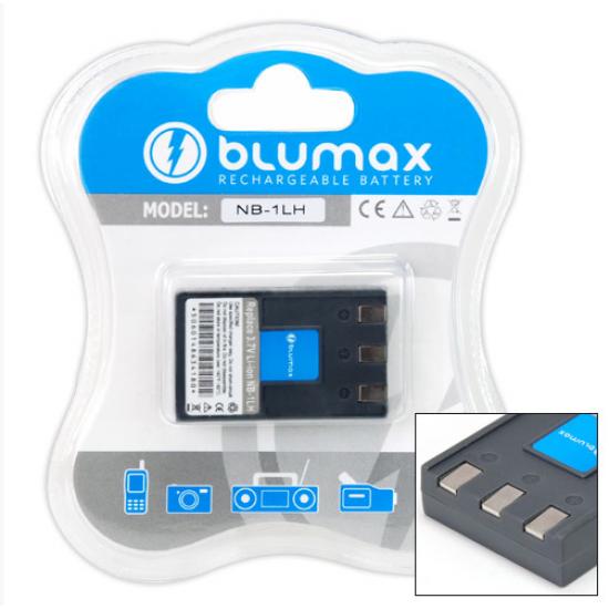 Blumax batteria per CANON NB-1L NB-1LH NB-11L C84-1008 BP-1LHCL