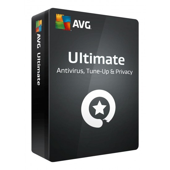 AVG Ultimate Internet security + TuneUp 1 Anno dispositivi illimitati ESD