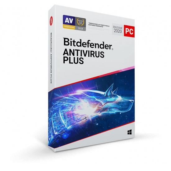 BitDefender Antivirus Plus 2020 10 Computer PC 1 Anno ESD