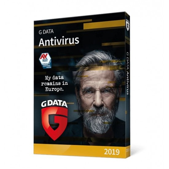 GData G-Data AntiVirus 3 PC Windows 1 Anno Invio ESD