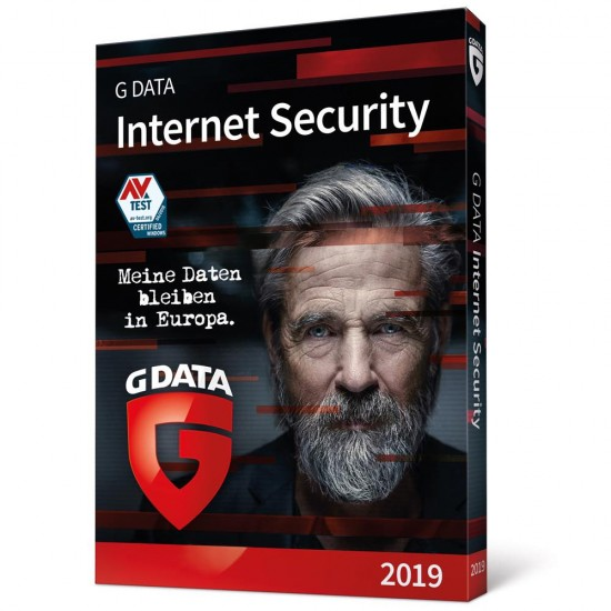 GData G-Data Internet Security 3 PC Windows 1 Anno Invio ESD