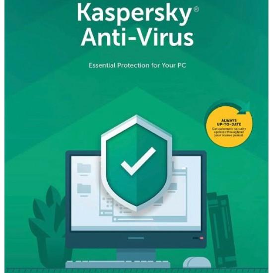 Kaspersky Anti-Virus 3 Computer 1 Anno ESD