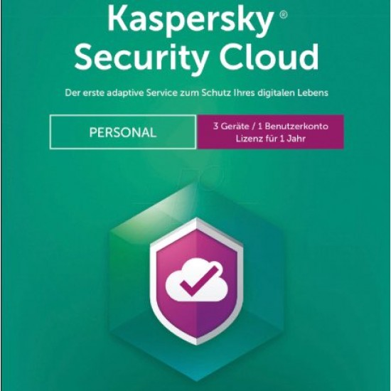 Kaspersky Security Cloud Personal 3 PC Win Mac Android 1 Anno ESD