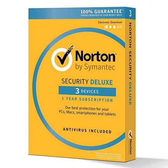 Norton Security Deluxe 3 PC Win - Mac - Android - 1 Anno ESD