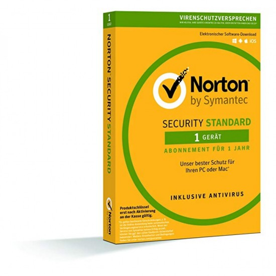 Norton Security Standard 1 PC Win - Mac - Android - 1 Anno ESD
