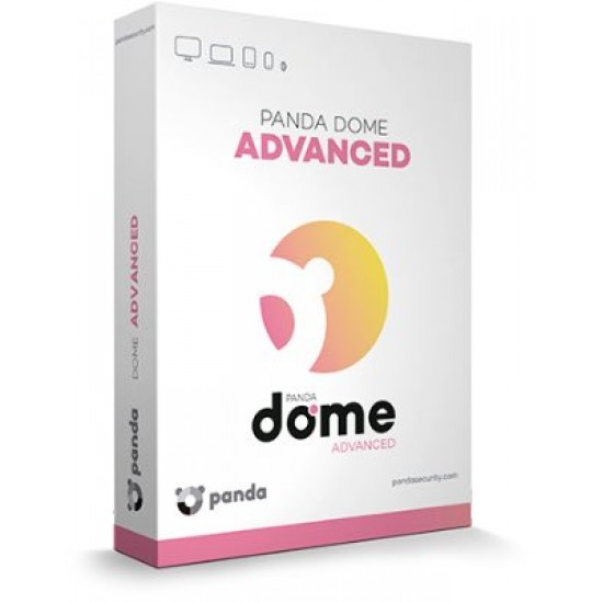 Panda Dome Advanced 3 PC Win Mac Android 1 Anno ESD