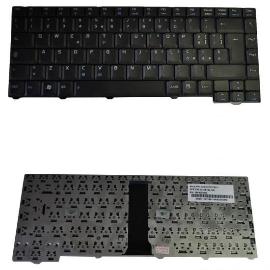 Tastiera Notebook ASUS F2 F3 Z53 28pin Nera 04GNI11KUS20